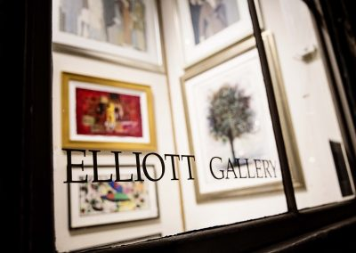 Elliott Gallery Window